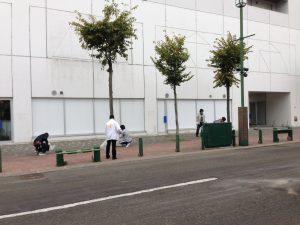 画像:②祭りの後の清掃活動2